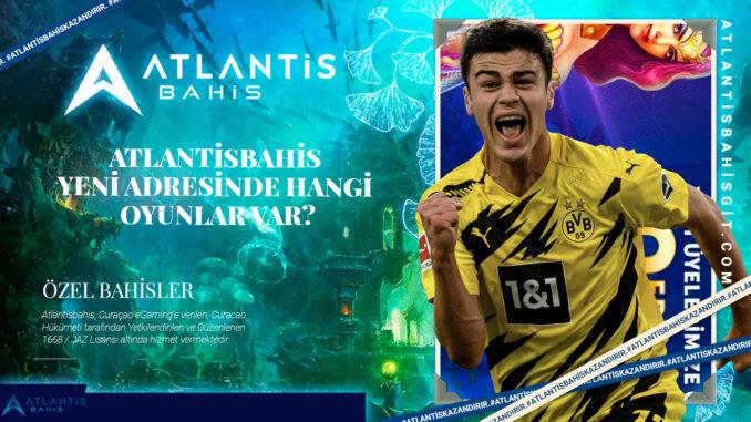 Atlantisbahis Yeni Adresinde Hangi Oyunlar Var
